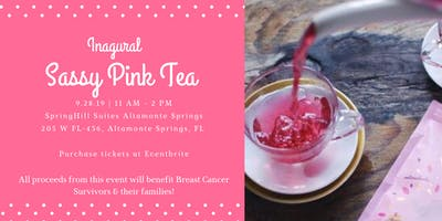 Inaugural Sassy Pink Tea Brunch