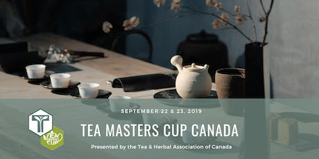 Tea Masters Cup Canada Competition tickets