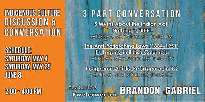 Indigenous Culture Conversation (3 part series) with Brandon Gabriel