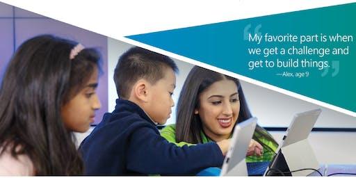 Back to School STEM Class with Microsoft - Brazos Mall