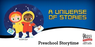 Summer Reading Pre-School Storytime  (Mondays)