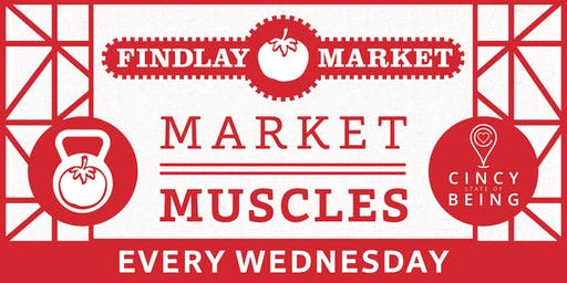 CincyStateOfBeing Presents: Market Muscles 2019 Season