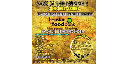 Savor The Summer Concert Series - Benefiting The Houston Food Bank