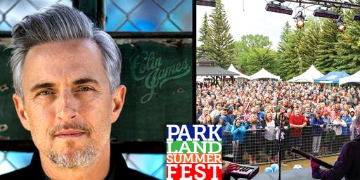 Parkland Summerfest featuring Colin James