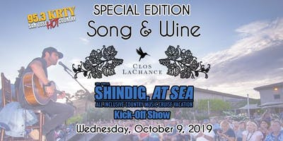 95.3 KRTY Presents Shindig at Sea Kick Off Songwriters Night