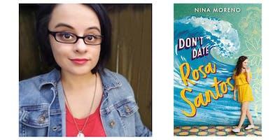 "Nina Moreno discussing ""Don't Date Rosa Santos"" at Books & Books!"