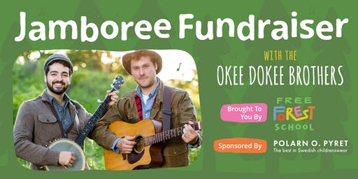 Free Forest School Jamboree Fundraiser with the Okee Dokee Brothers