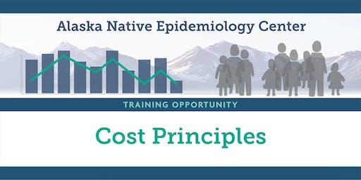 Cost Principles Training Workshop