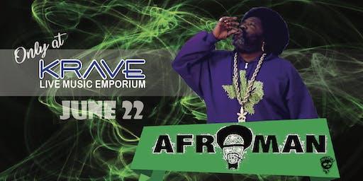 AFROMAN Live @ KRAVE