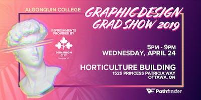 Pathfinder Graphic Design Grad Show