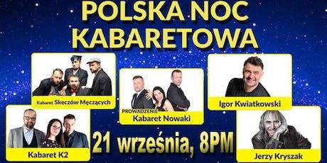 Polska Noc Kabaretowa 2019 – Humor Świata tickets