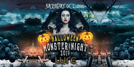 Halloween Monster Night 2019  tickets