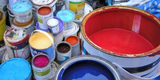 Community RePaint - Warsop Collection slot - 6.00pm - 6.15pm