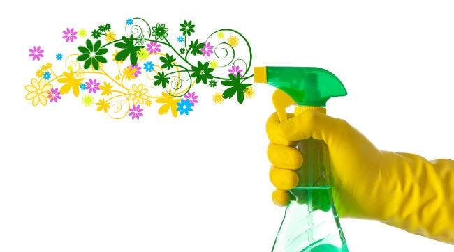Green Cleaning with Essential Oils banner