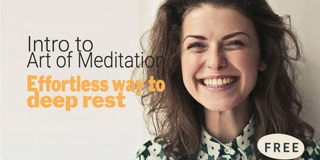 Introduction to Art of Meditation tickets