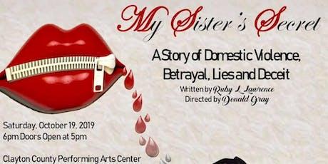 'My Sister's Secret' tickets