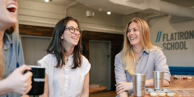 Coffee + Community with Flatiron School