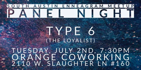 South Austin Enneagram Meetup Panel: Type 6 tickets