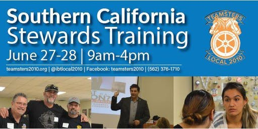 Southern California Steward Trainings - June 2019