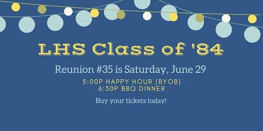 LHS Class Reunion #35!
