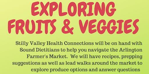 Cooking & Nutrition Series - Exploring Fruits & Veggies at the Arlington Farmer's Market