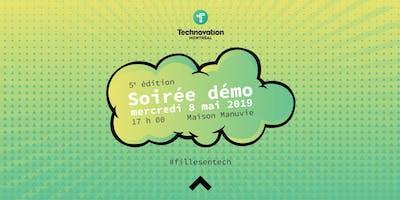 Soirée démo Technovation Montréal - 5ème édition