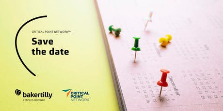 Save the date | Critical Point Network™ tickets