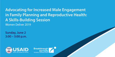 Advocating for Increased Male Engagement in FP/RH