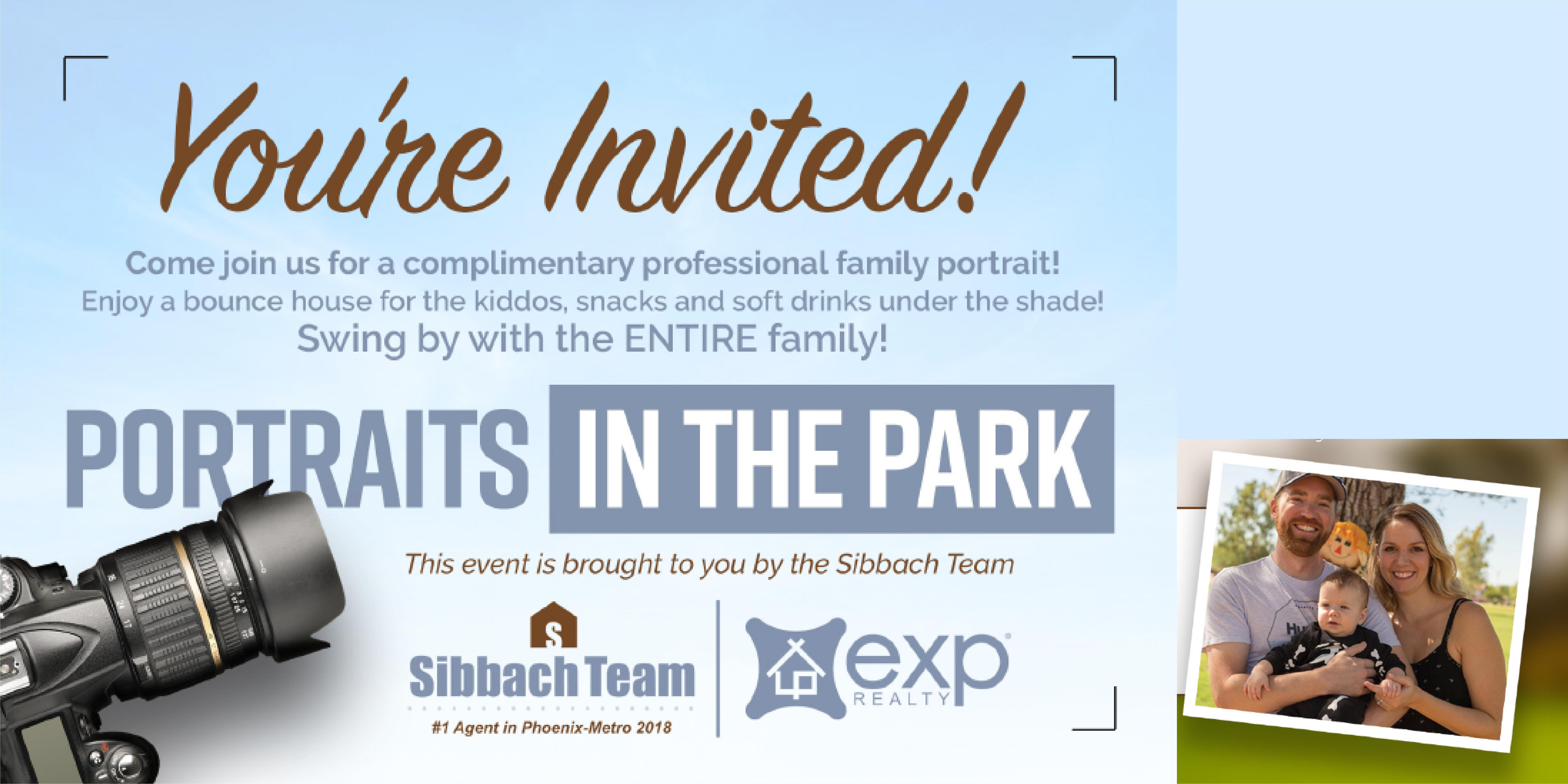 Portraits in The Park - Sibbach Team at eXp Realty