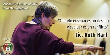 Jornada con Ruth Harf en Corrientes entradas