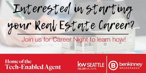 West Seattle Career Night with Keller Williams!