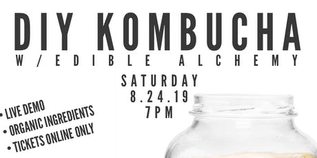 DIY KOMBUCHA  tickets