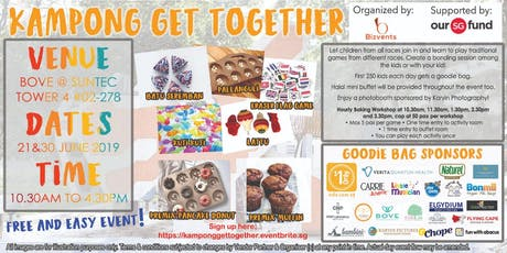 Kampong Get Together ( Kids age 2 and above) tickets