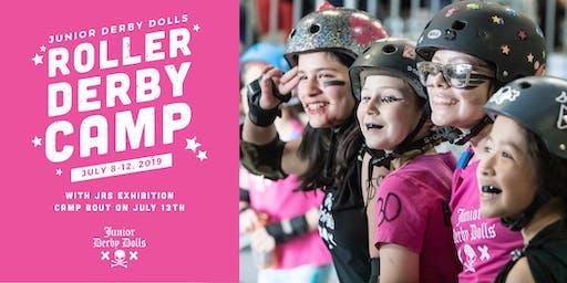 Junior Derby Dolls Roller Derby Camp 2019