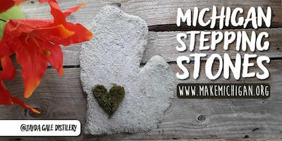 DIY Michigan Stepping Stones - Wayland