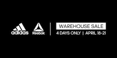 The adidas & Reebok Warehouse Sale