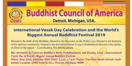 International Vesak Day-Buddhist Festival tickets