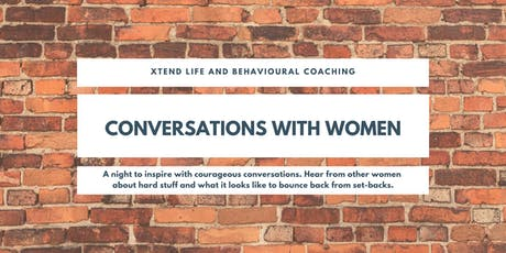 Don't Make Me Think Series - Conversations with Women tickets