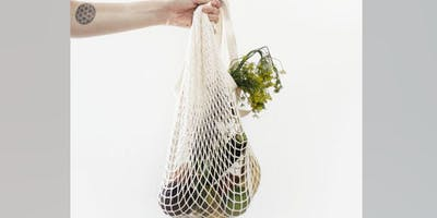 Reusable Shopping Bags Making Workshop - Plastic Free July