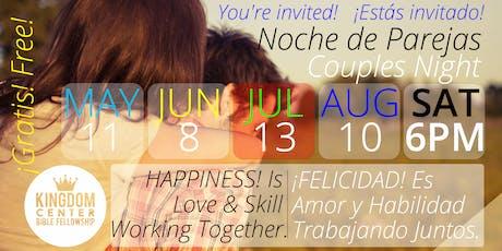 Noche de Parejas   Couples Night - JUL13 tickets