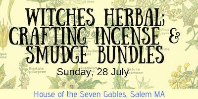 Crafting Incense & Smudge Bundles