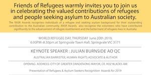Refugee & Asylum Seeker Recognition Awards 2019