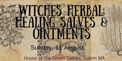 Witches Healing Salves & Ointments