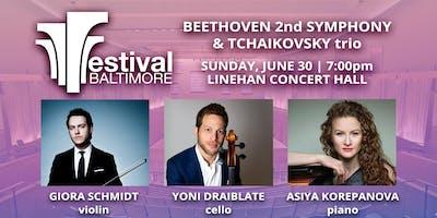 FESTIVAL BALTIMORE GRAND FINALE: BEETHOVEN 2nd SYMPHONY & TCHAIKOVSKY ****