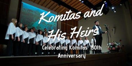 Komitas & His Heirs: ARENI Choir tickets