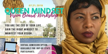 Queen Mindset | Vision Board Workshop tickets