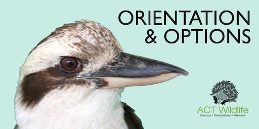 ACT Wildlife ORIENTATION