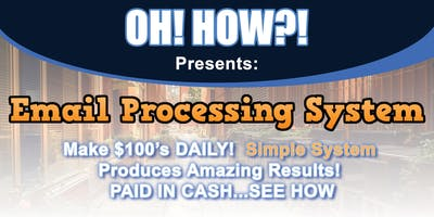 OH! How?! Presents: Make $100's Daily [San Diego]