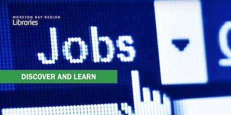 Get That Job! Job Seeking Skills - Redcliffe Library tickets