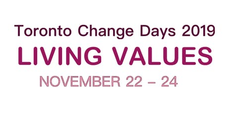 Toronto Change Days 2019 tickets